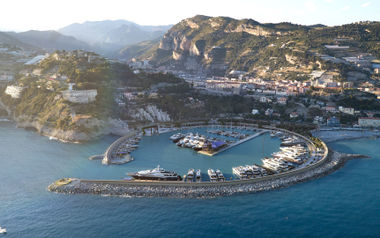 New port of Ventimiglia
