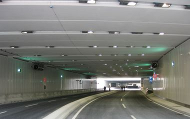 'Via del Nord' tunnel